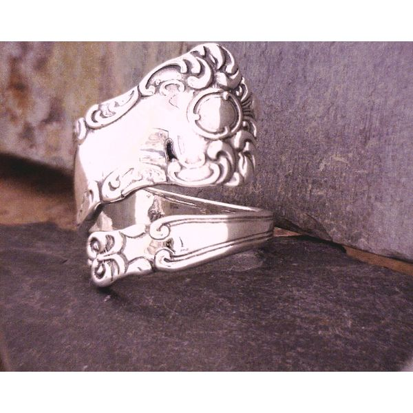 Sterling Spoon Ring Vulcan's Forge LLC Kansas City, MO