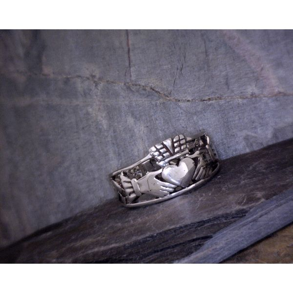 Sterling Silver Claddagh Ring Vulcan's Forge LLC Kansas City, MO