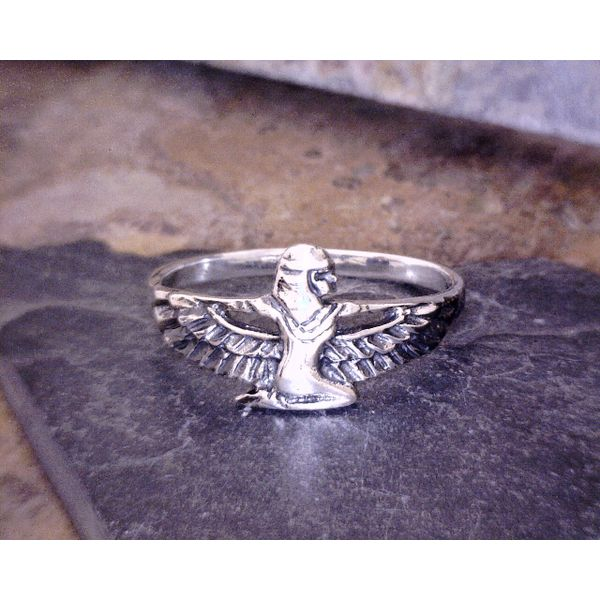 Sterling Silver Isis Ring Vulcan's Forge LLC Kansas City, MO