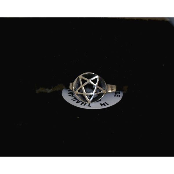 Sterling Silver Pentacle Ring Vulcan's Forge LLC Kansas City, MO