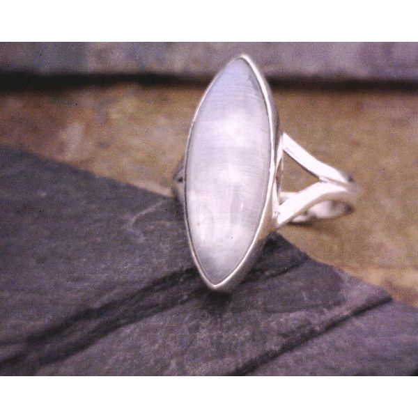 Sterling Marquis Moonstone Ring Vulcan's Forge LLC Kansas City, MO