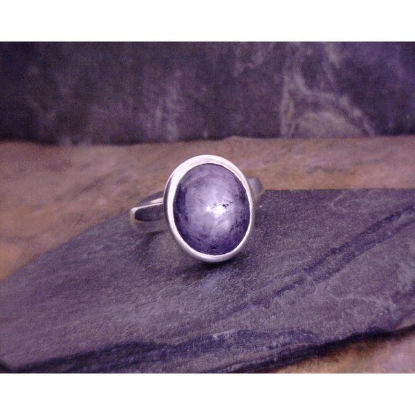Star Sapphire Ring Vulcan's Forge LLC Kansas City, MO