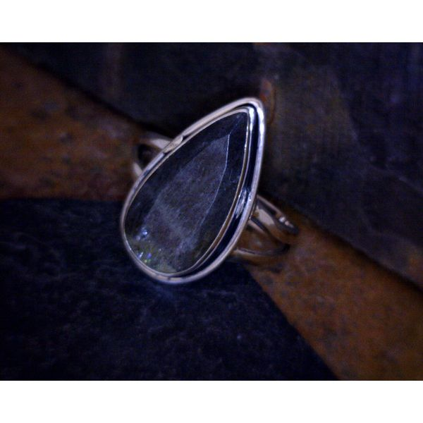 Sterling Silver Labradorite Ring Vulcan's Forge LLC Kansas City, MO