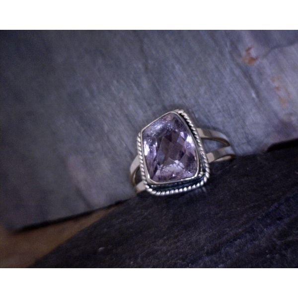 Amethyst Ring Vulcan's Forge LLC Kansas City, MO