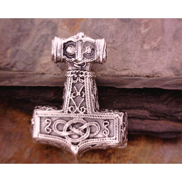 Sterling Ornate Thor's Hammer Vulcan's Forge LLC Kansas City, MO
