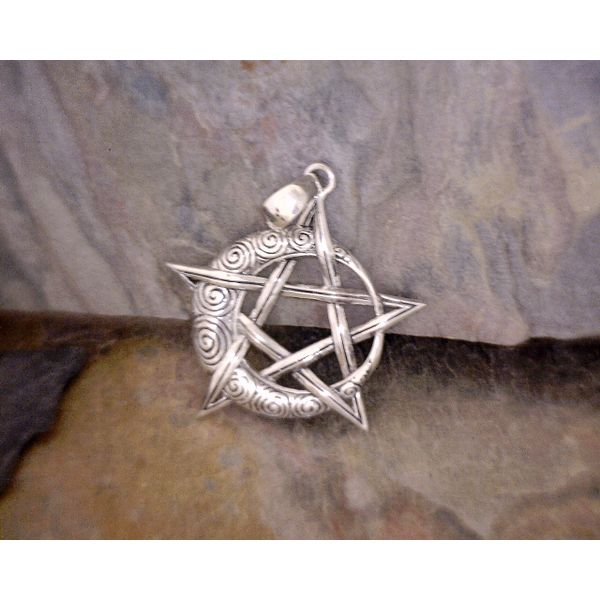 Sterling Pentacle & Moon Vulcan's Forge LLC Kansas City, MO
