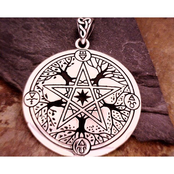 Sterling Elemental Seasons Pentacle Vulcan's Forge LLC Kansas City, MO