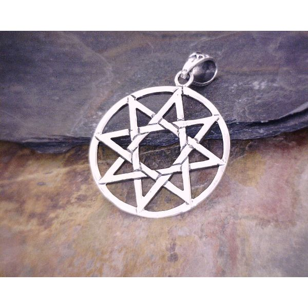 Silver 8 Pointed Pentacle Vulcan's Forge LLC Kansas City, MO