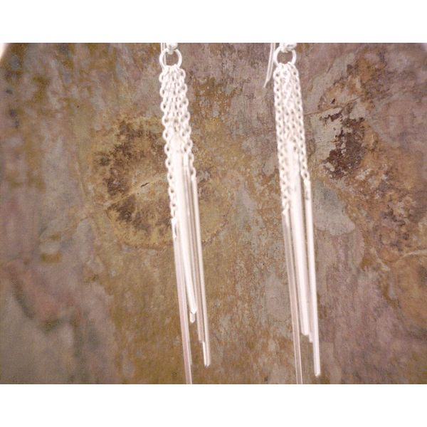 Sterling Wind Chime Long Dangles Vulcan's Forge LLC Kansas City, MO