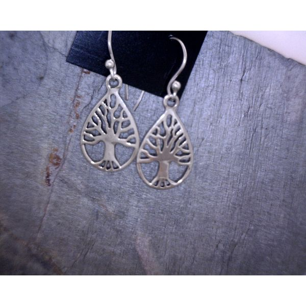 Sterling Silver Tree Of Life Earrings Vulcan's Forge LLC Kansas City, MO