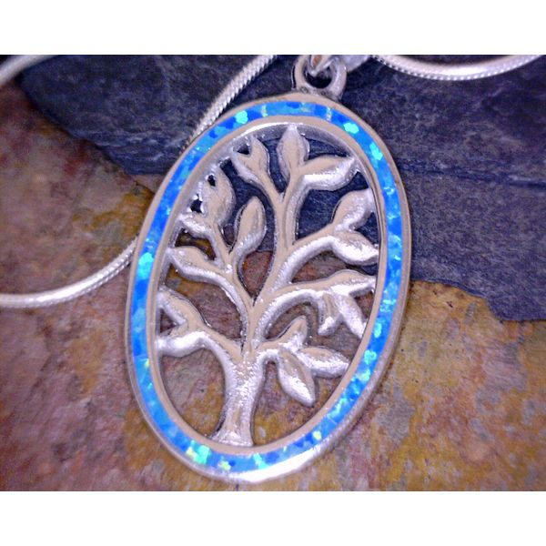 Sterling Silver Tree Of Life Pendant Vulcan's Forge LLC Kansas City, MO