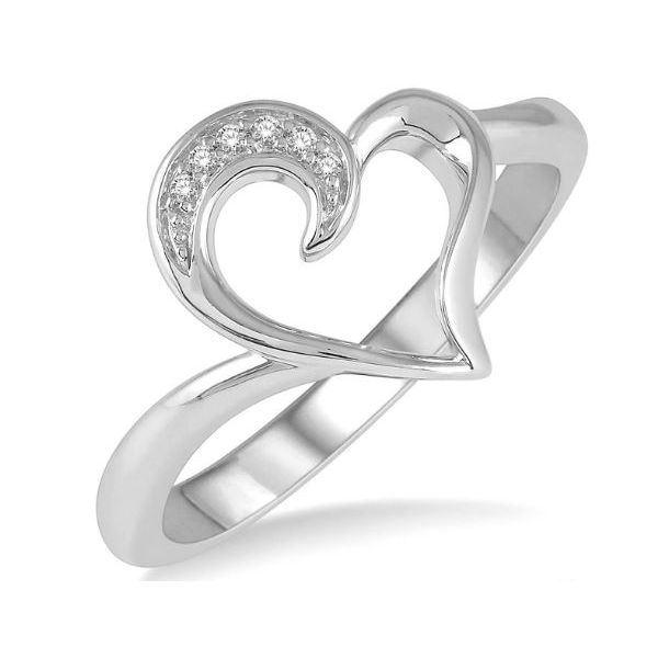 Open Heart Ring Wesche Jewelers Melbourne, FL