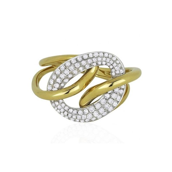 """Link"" Fashion Ring by Madison L Wesche Jewelers Melbourne, FL"