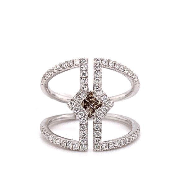 Geometric Open Style Ring by Le Vian from the Chocolatier Collection Wesche Jewelers Melbourne, FL