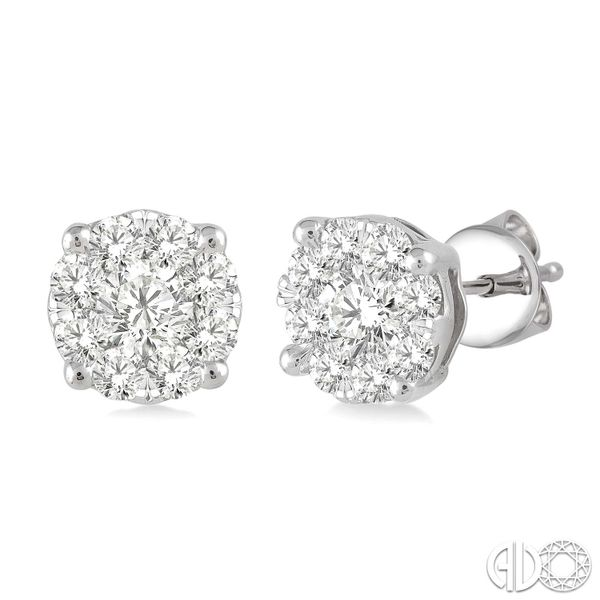 """Lovebright"" Stud Earrings Wesche Jewelers Melbourne, FL"