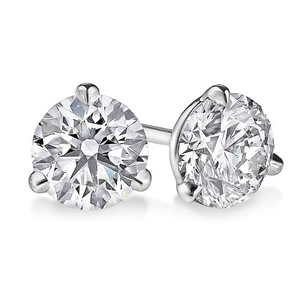 LAB GROWN Diamond Stud Earrings Wesche Jewelers Melbourne, FL