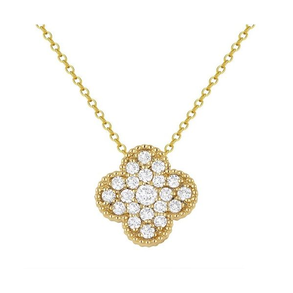 """Clover"" Pendant by Madison L Wesche Jewelers Melbourne, FL"