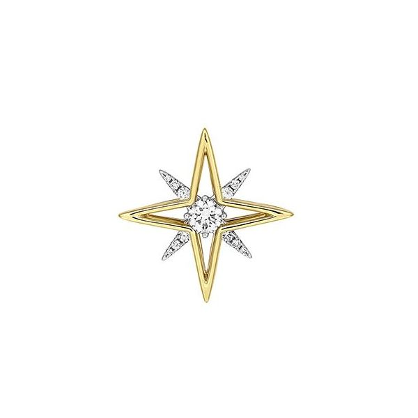 Lab Grown Diamond Pointed Star Pendant by Chatham Wesche Jewelers Melbourne, FL