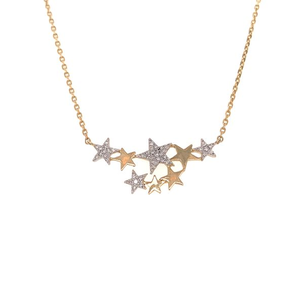 Star Cluster Necklace by Madison L Wesche Jewelers Melbourne, FL