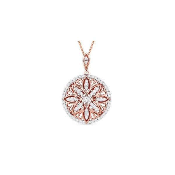 Diamond Medallion Pendant by Madison L Wesche Jewelers Melbourne, FL