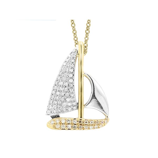 Sailboat Pendant by EFFY Wesche Jewelers Melbourne, FL