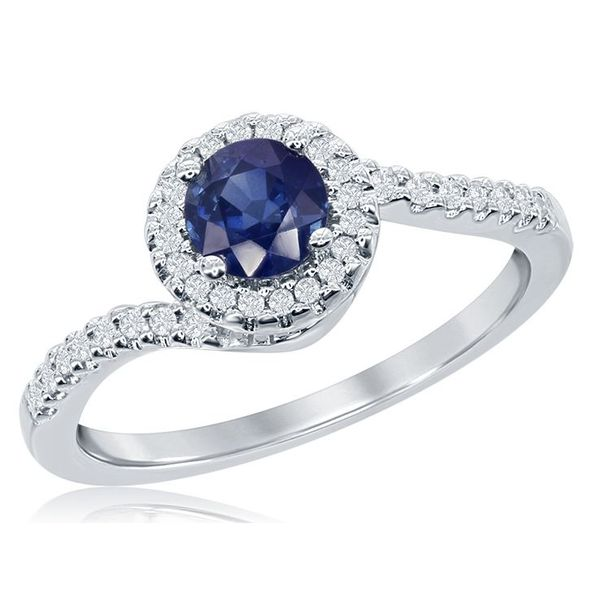 Blue Sapphire Ring Wesche Jewelers Melbourne, FL