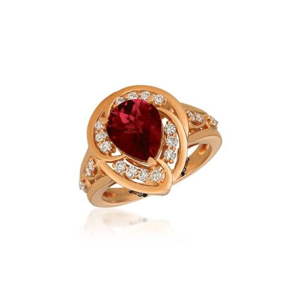 Pomegranate Garnet Ring by Le Vian from the Creme Brulee Collection Wesche Jewelers Melbourne, FL