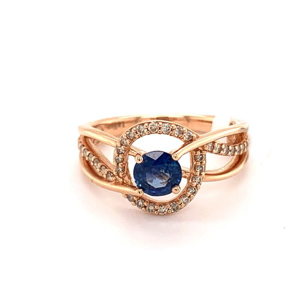 Blueberry Sapphire Ring by Le Vian from the Creme Brulee Collection Wesche Jewelers Melbourne, FL