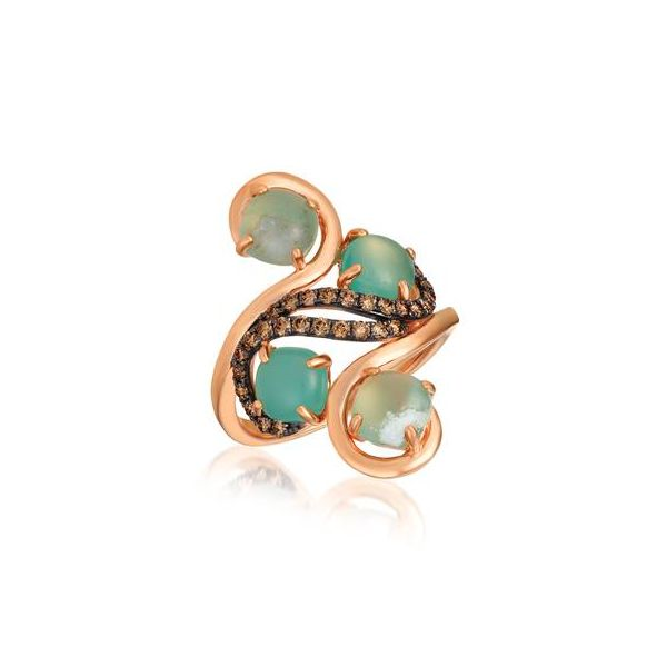 Aquaprase Candy Cabochon Ring by Le Vian from the Chocolatier Collection Wesche Jewelers Melbourne, FL