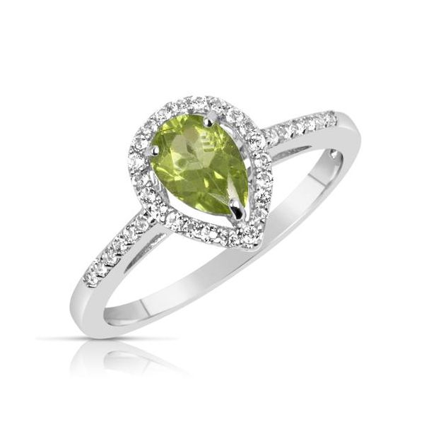 Peridot Ring by Benjamin  Cohen Wesche Jewelers Melbourne, FL