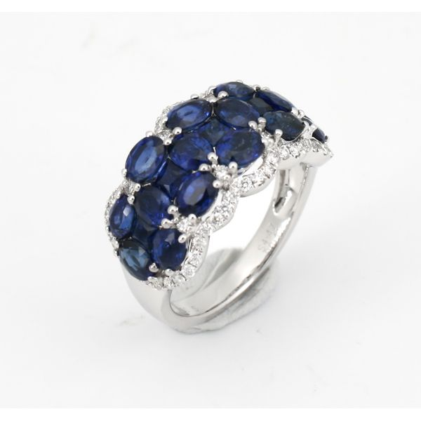 Blue Sapphire Band Wesche Jewelers Melbourne, FL