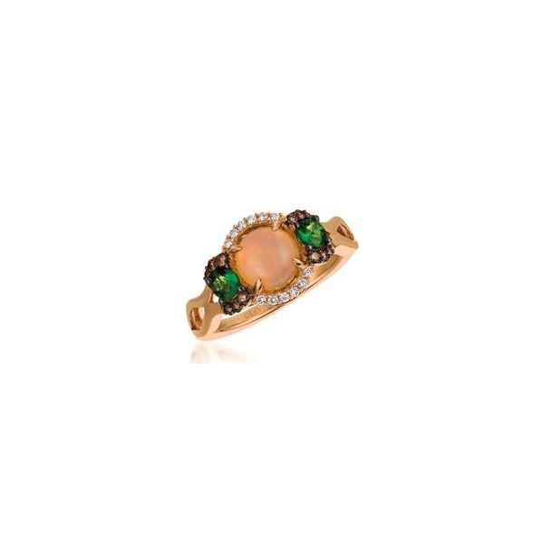 Opal Cabochon Ring by Le Vian from the Chocolatier Collection Wesche Jewelers Melbourne, FL