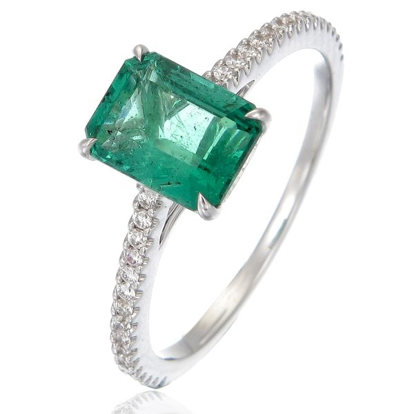 Emerald Ring Wesche Jewelers Melbourne, FL
