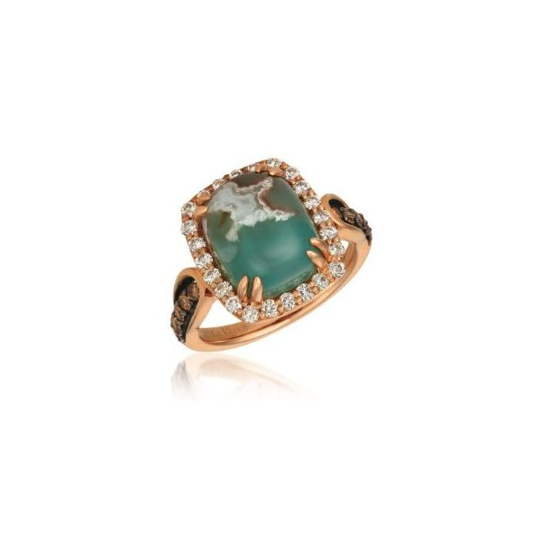 Aquaprase Candy Cabochon Ring by Le Vian from the Creme Brulee Collection Wesche Jewelers Melbourne, FL