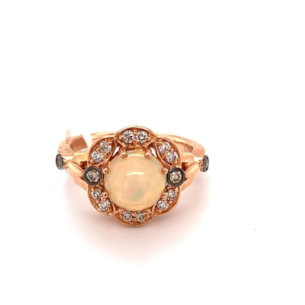 Neopolitan Opal Cabochon Ring by Le Vian from the Chocolatier Collection Wesche Jewelers Melbourne, FL