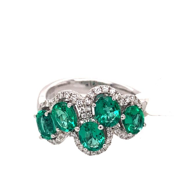 Emerald Fashion Ring Wesche Jewelers Melbourne, FL