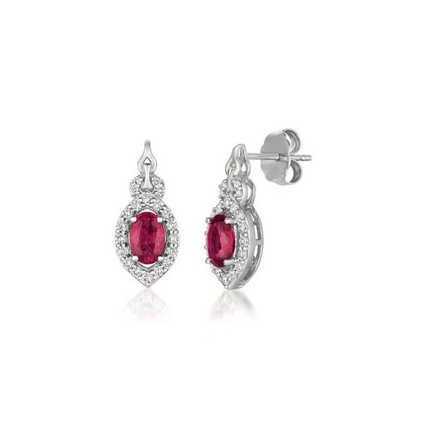 Ruby Earrings by Le Vian Wesche Jewelers Melbourne, FL