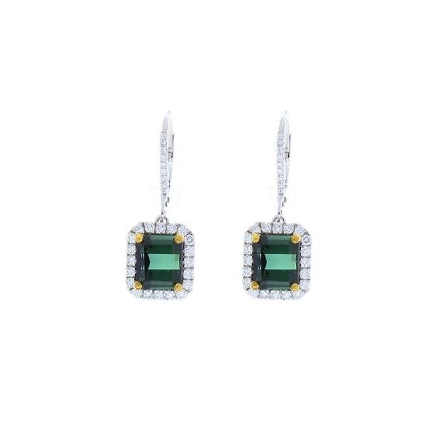 Green Tourmaline Earrings Wesche Jewelers Melbourne, FL