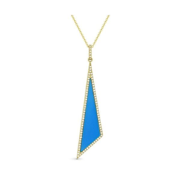Turquoise Pendant by Madison L Wesche Jewelers Melbourne, FL
