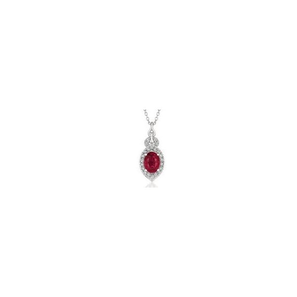 Passion Ruby Pendant Wesche Jewelers Melbourne, FL