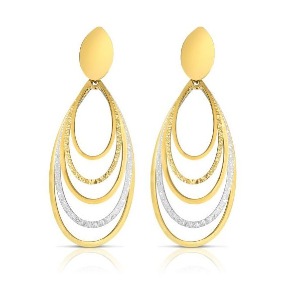 Oval Drop Earrings by Royal Chain Wesche Jewelers Melbourne, FL
