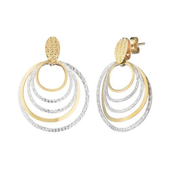 Circle Drop Earrings by Royal Chain Wesche Jewelers Melbourne, FL