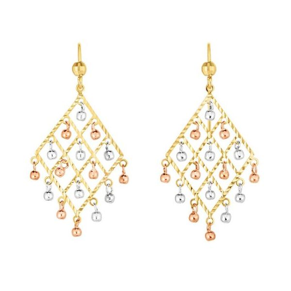 Chandelier Drop Earrings by Royal Chain Wesche Jewelers Melbourne, FL