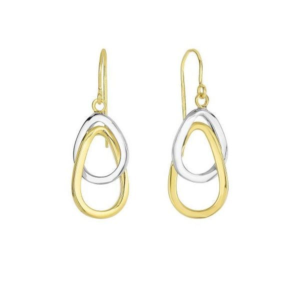 Interconnected Open Ovals Earrings by Royal Chain Wesche Jewelers Melbourne, FL