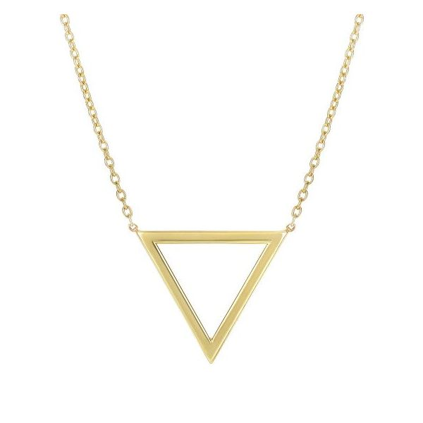 Delta Triangle Necklace by Royal Chain Wesche Jewelers Melbourne, FL