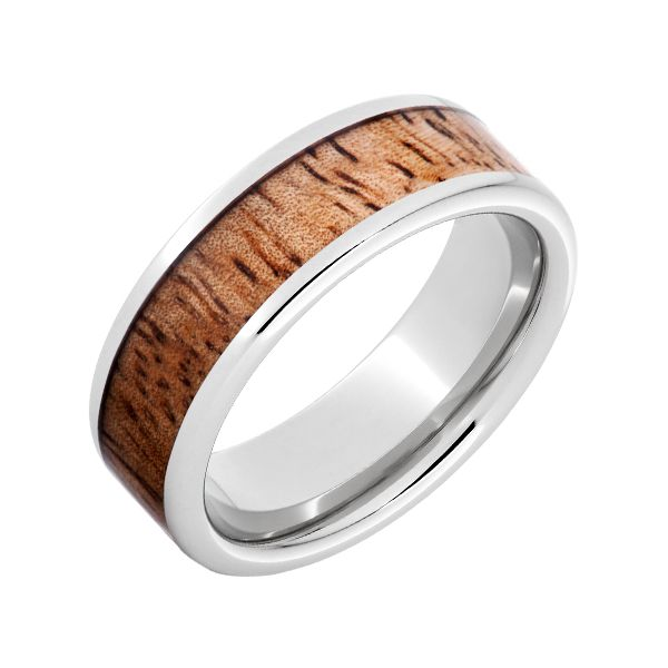 Serenium Band with Mango Wood Wesche Jewelers Melbourne, FL