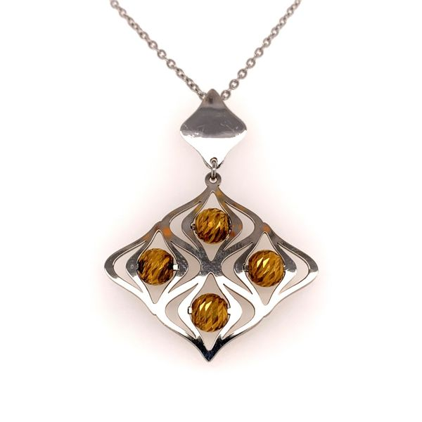 """Lustrous"" Pendant by Frederic Duclos Wesche Jewelers Melbourne, FL"