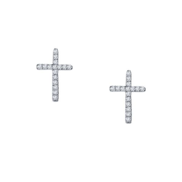 Cross Earrings by Lafonn Wesche Jewelers Melbourne, FL