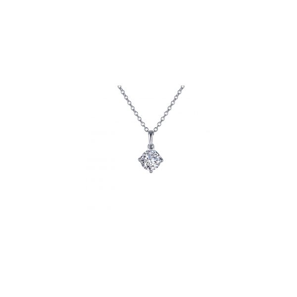 Diamond Solitaire 4 Prong Pendant by Lafonn Wesche Jewelers Melbourne, FL