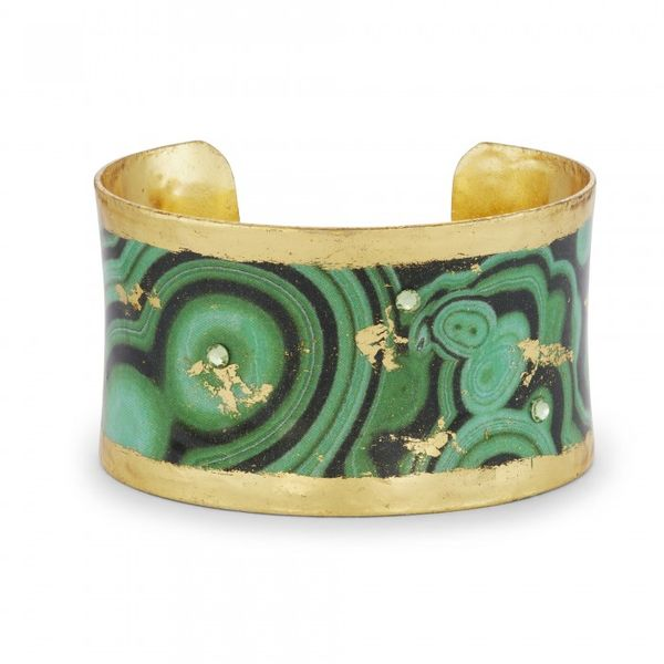 """Malachite"" Corset Cuff by Evocateur Wesche Jewelers Melbourne, FL"